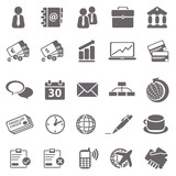 Business basic icons