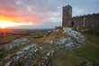 Brentor church.