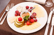 cheeses and fruits for appetizers