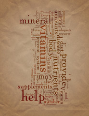 Why Take Vitamin and Mineral Supplements
