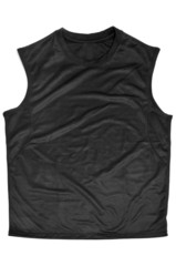 breathable polyester sports sleeveless T-shirt