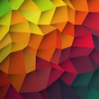 Abstract colorful patches background. Vector, EPS10