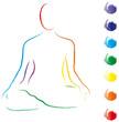 Yoga - Lotussitz - Logo