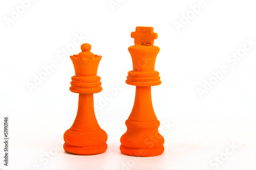 Orange king and Queen