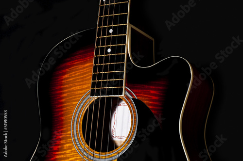 acoustic guitar body