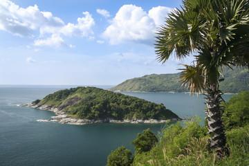 phuket island coastal landscape thailand