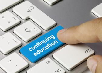 Continuing education tastatur