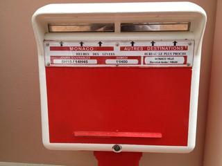 Mailbox Monaco - Boîte aux lettres Monaco