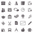 School basic icons