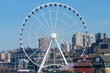 Ferris Wheel Buildings Waterfront Seattle Washington