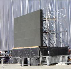 schermo in piazza
