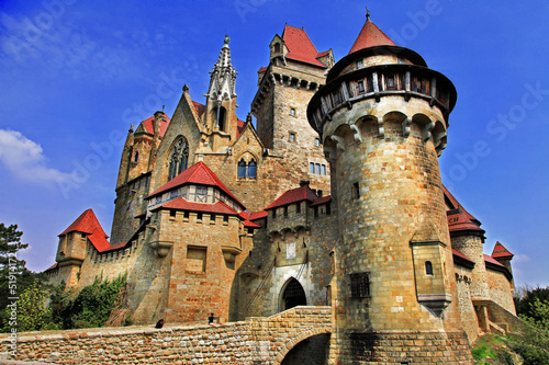 Kreuzenstein castle - castle from fairy tale, Austria