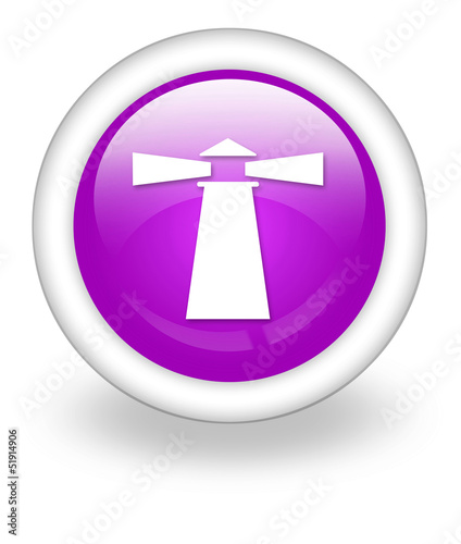 "Violet Icon ""Lighthouse"""