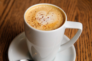 cappuccino latte cup