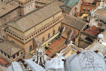 Chapelle Sixtine et batiments du Vatican