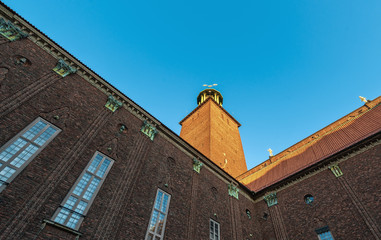Stockholm City Hall Perspective
