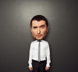 picture of bighead man