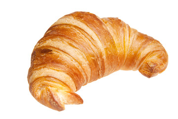 croissant isolated isolated on white
