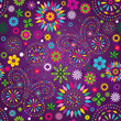 Seamless motley violet pattern
