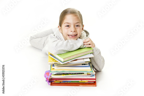 Cute Girl who loves to Read