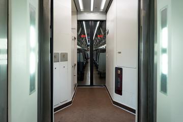 high speed train corridor