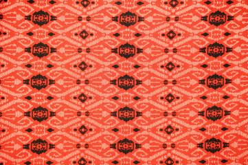 Traditional Batik Sarong Pattern Background