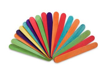 Ventaglio con bastoncini multicolore