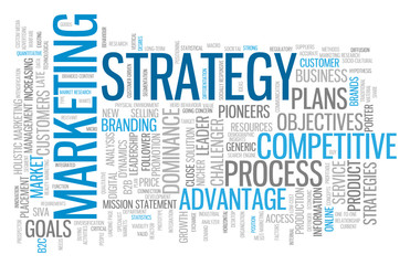 MARKETING STRATEGY Tag Cloud (advertising business competition)