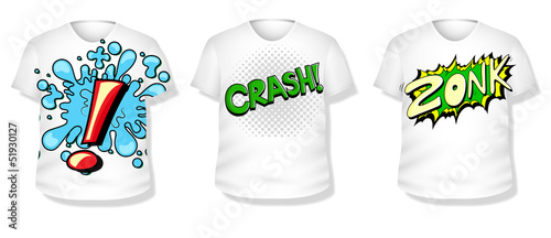 T-shirt Design Vector Set