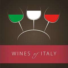 Italian Wines Menu