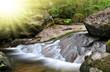 White creek - National park Sumava Czech Republic Europe