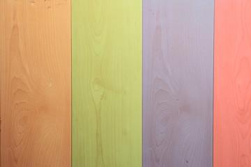 madera de colores