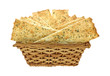 Flat Bread Strips in Basket