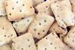 Naan Baked Bread Crackers up Close