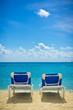 Beautiful beach in Philipsburg, Saint Maarten, Carribean Islands