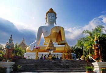 Wat Phra That Doi Kham   chiangmai   thailand