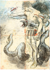 Hercules - Slay the nine-headed Lernaean Hydra.