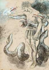 Hercules - Slay the nine-headed Lernaean Hydra.