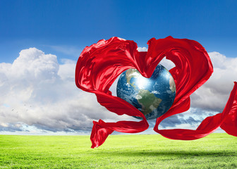 Earth Heart Icon