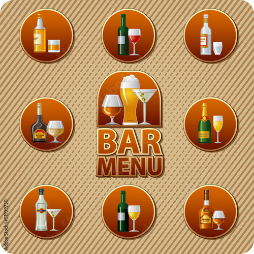 bar menu icon