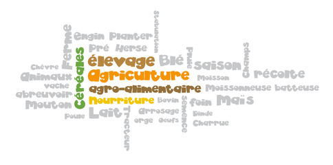 Nuage de Tags : Agriculture