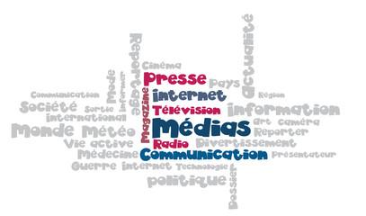 Nuage de Tags : médias