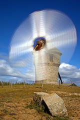 moulin de la falaise à Batz Sur Mer en France