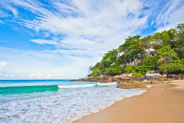 Beautiful view of beach