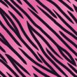 Pink Tiger Striped Background