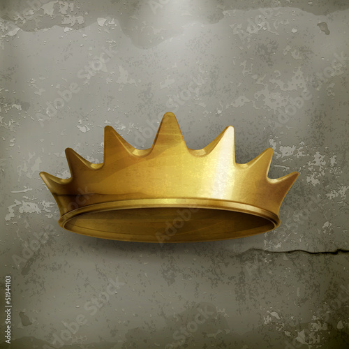 Golden crown, old style