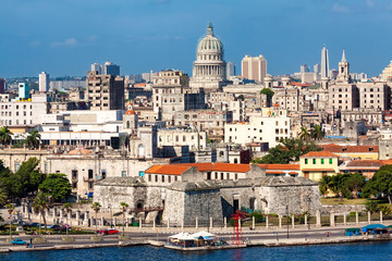View of Havana featuring several  landmarks