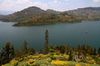 Lake Kivu and Lush Garden