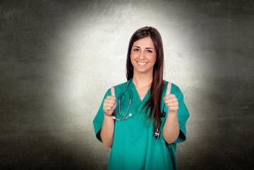 Atractive medical saying ok