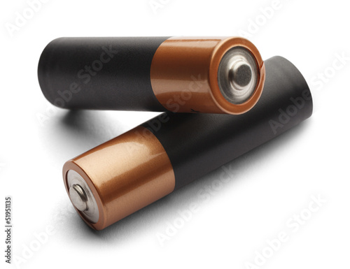 Two Double A Batteries
